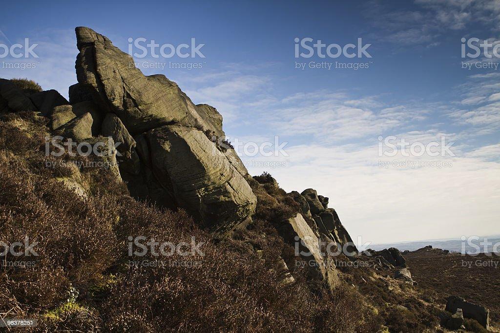 Stone Outcrop royalty-free stock photo