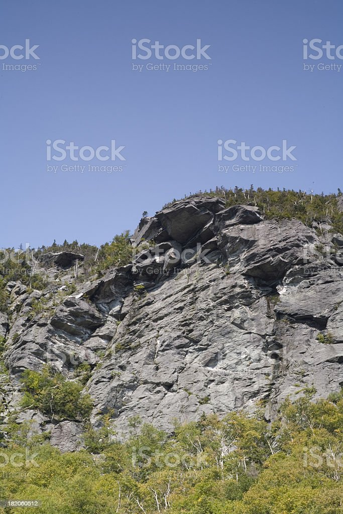 Stone Outcropping royalty-free stock photo