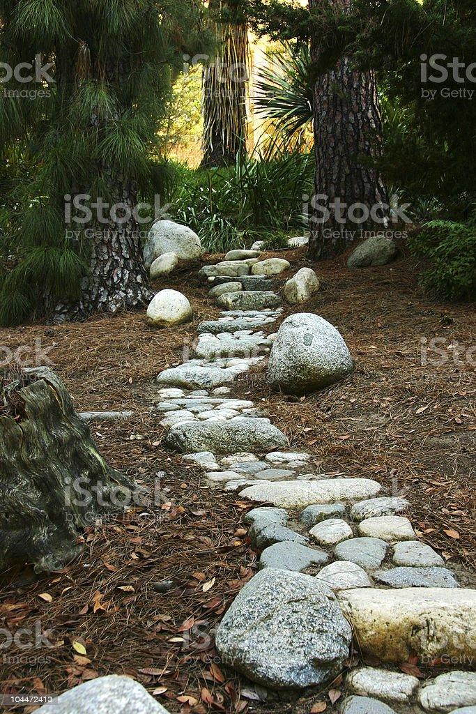 Stone Path 2 royalty-free stock photo