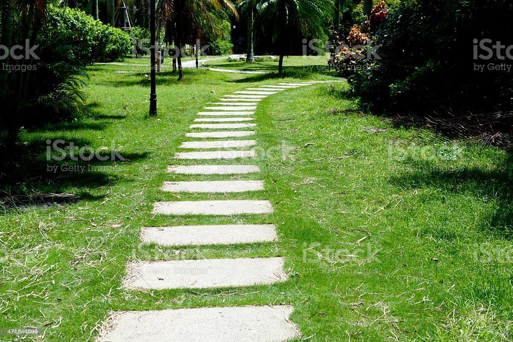stone path royalty-free stock photo