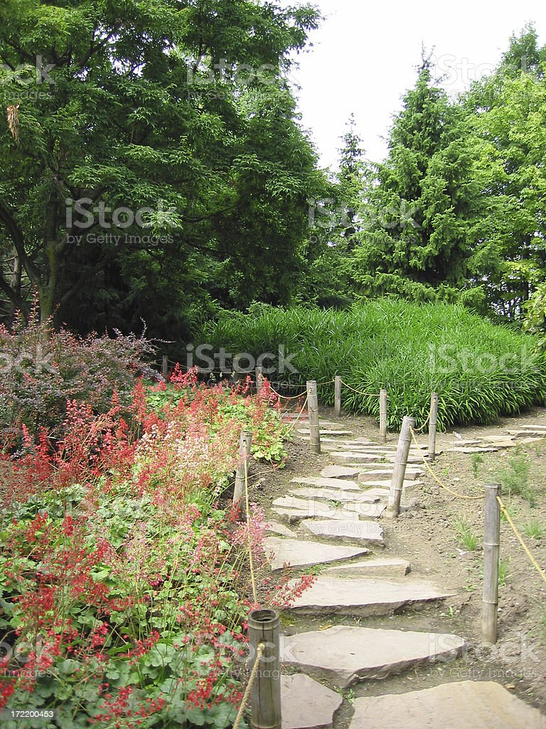 stone pathway royalty-free stock photo