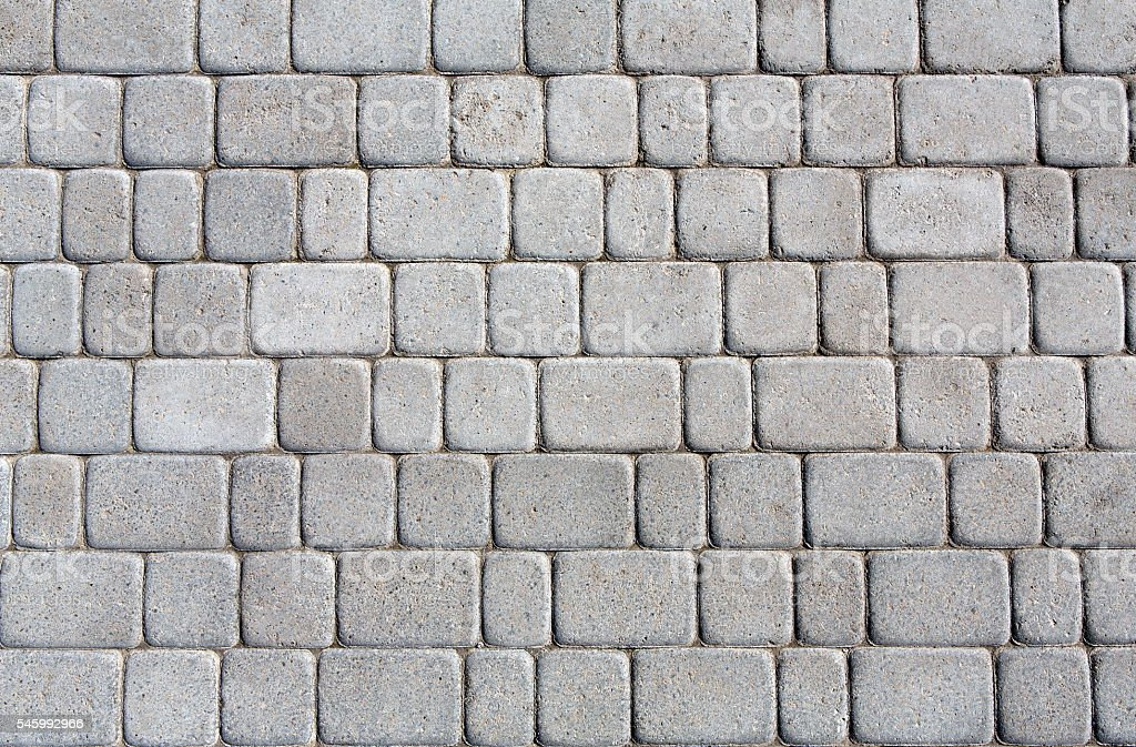 Stone paving texture. Abstract pavement background. - foto de stock
