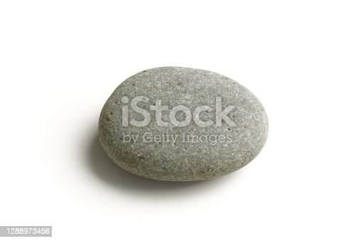 istock Stone Pebble, Gray 1288973456