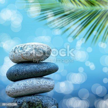 591835714 istock photo stone pile on beach 591405258