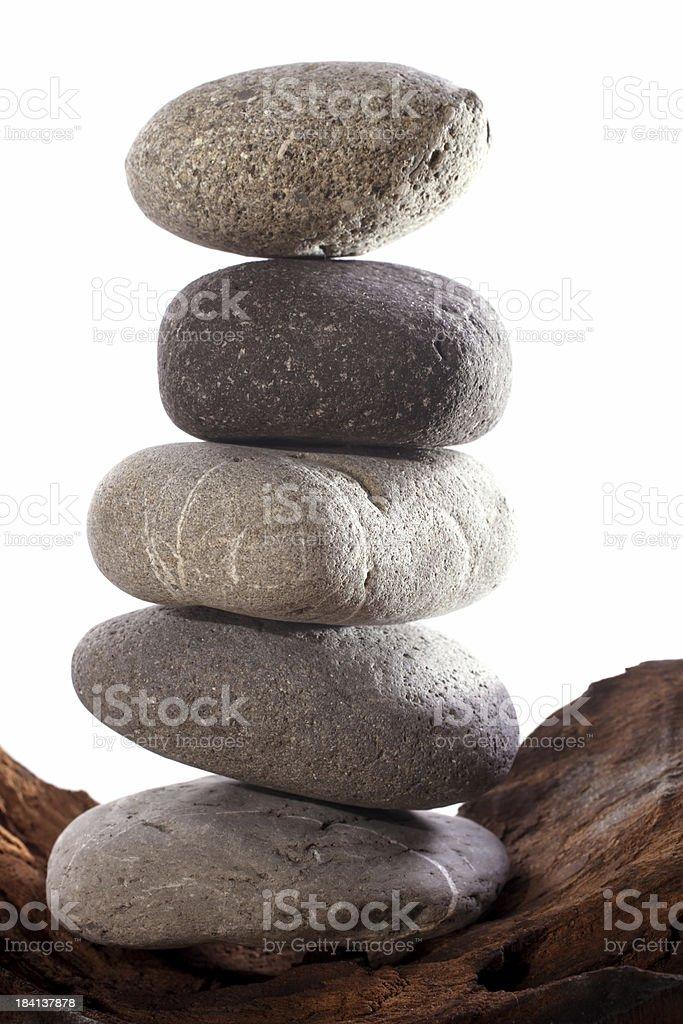 stone pile royalty-free stock photo