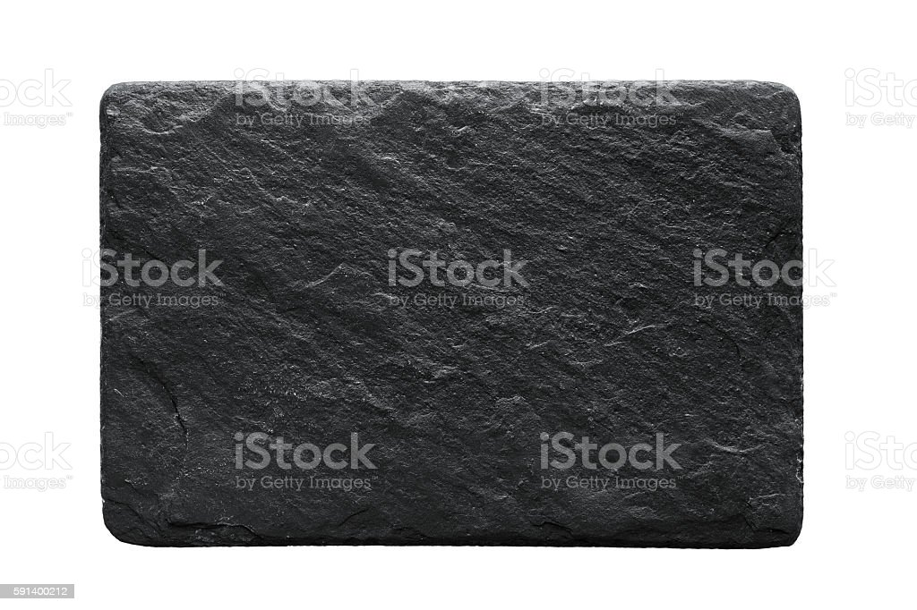 Stone plate stock photo