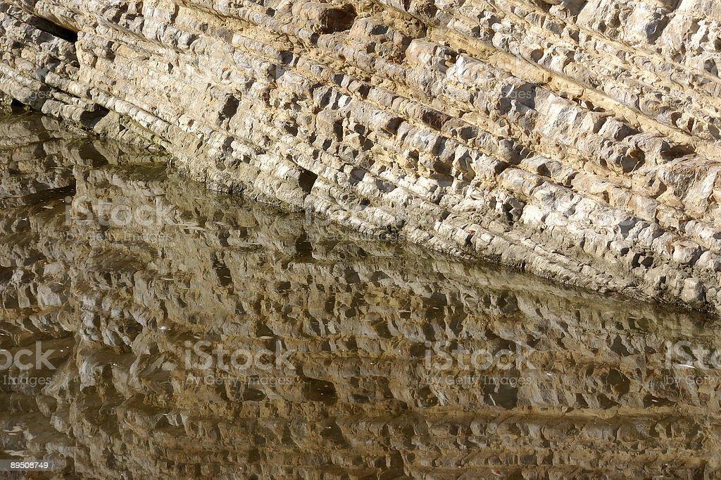 Stone Reflections royalty-free stock photo