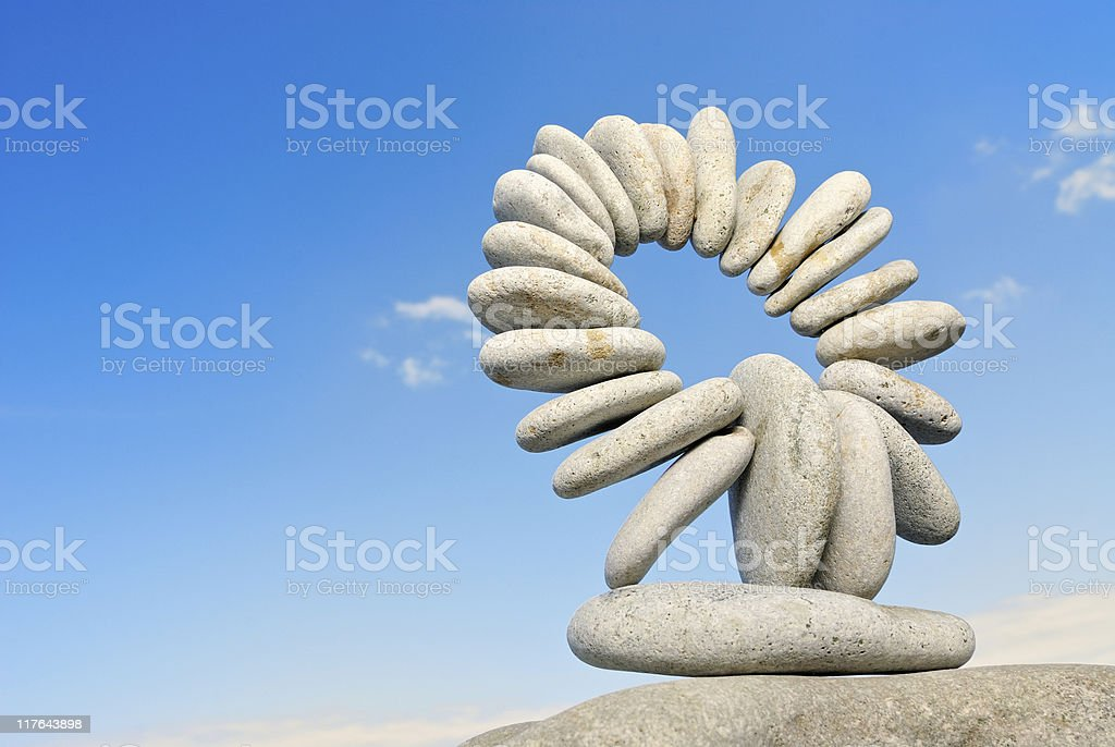 Stone ring royalty-free stock photo