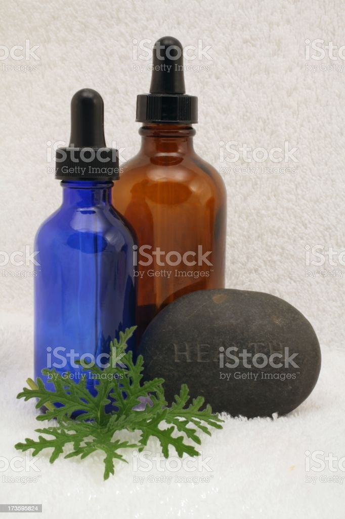 Stone says 'health' royalty-free stock photo