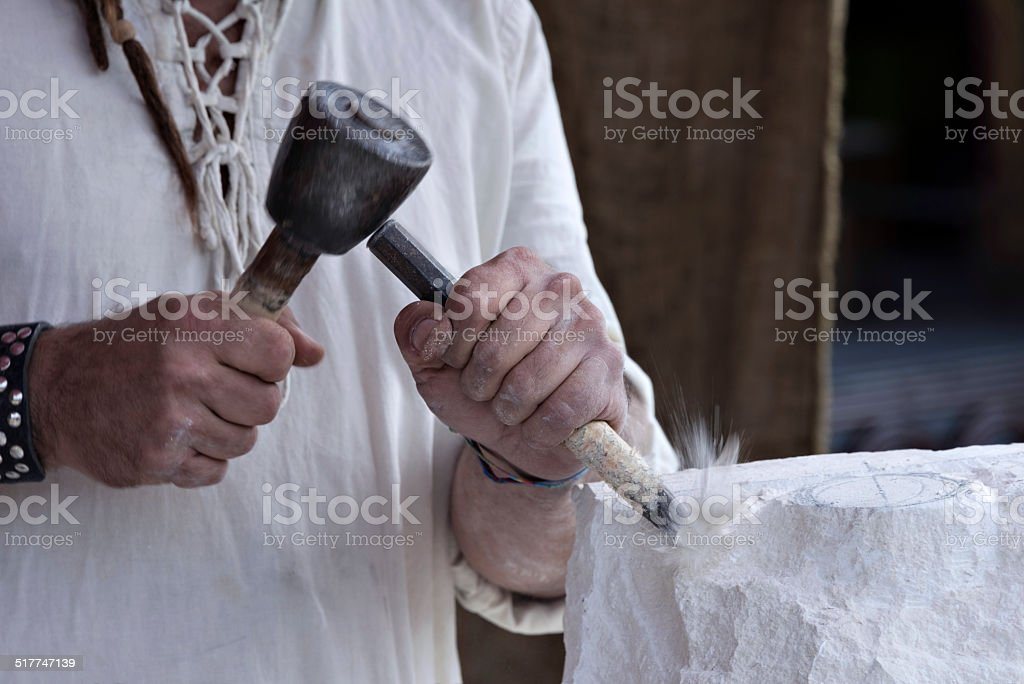 Stone Bildhauer – Foto
