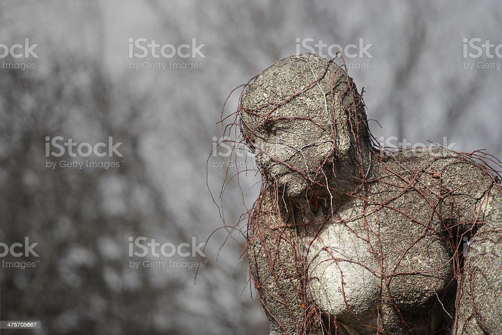 Stone sculpture royalty-free stock photo