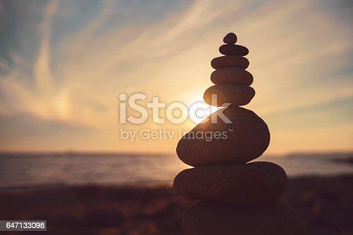 istock Stone Sculpture 647133098