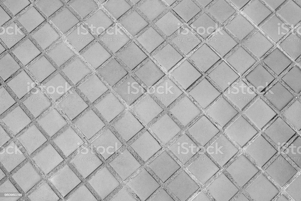 Bürgersteig Hintergrund aus Stein oder Textur schwarz weiß. - Lizenzfrei Alt Stock-Foto