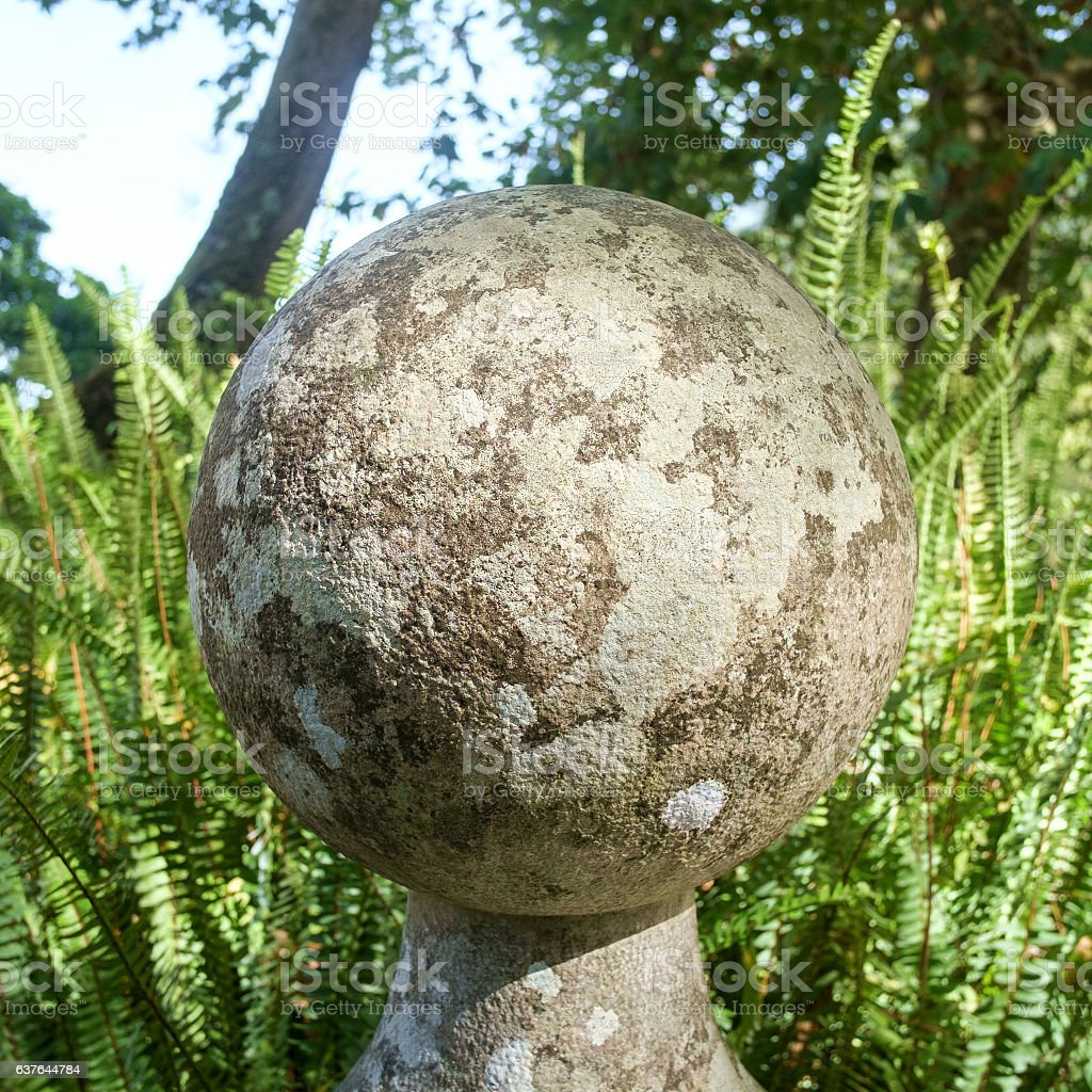 Stone Sphere stock photo