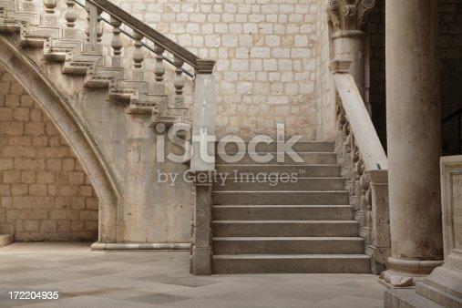 istock Stone staircase. 172204935