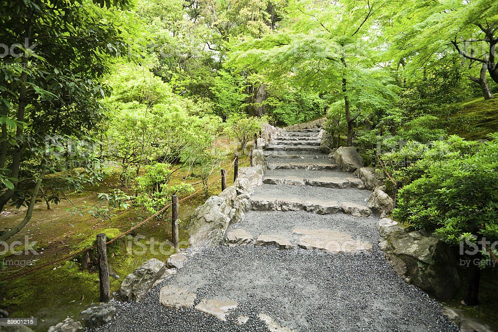 stone staircase royalty-free stock photo
