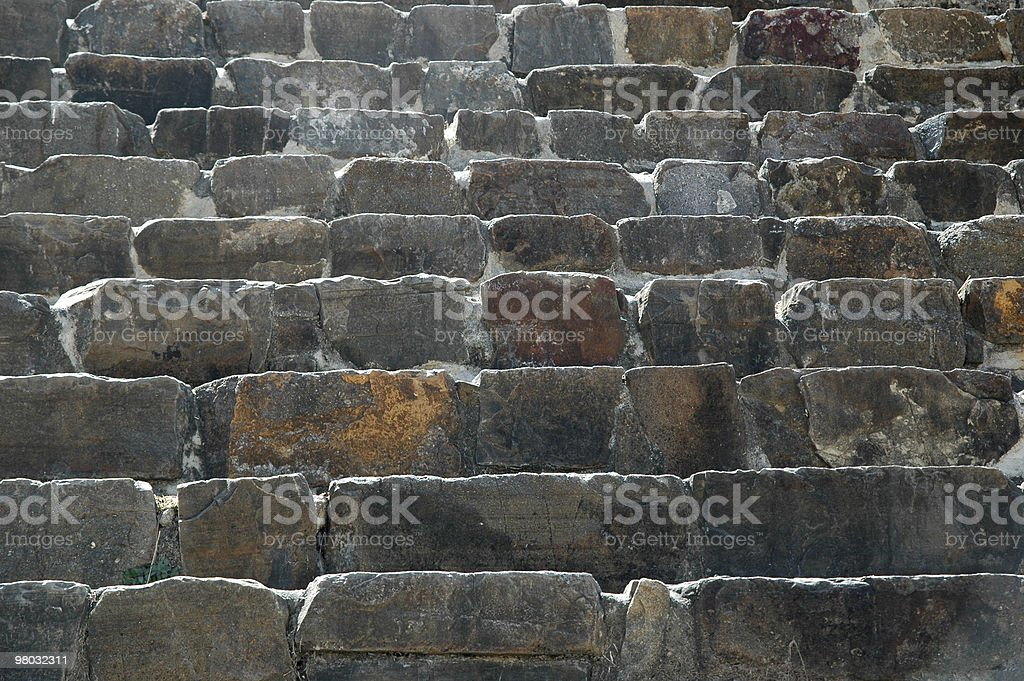 Stone stairs detail. royalty-free stock photo