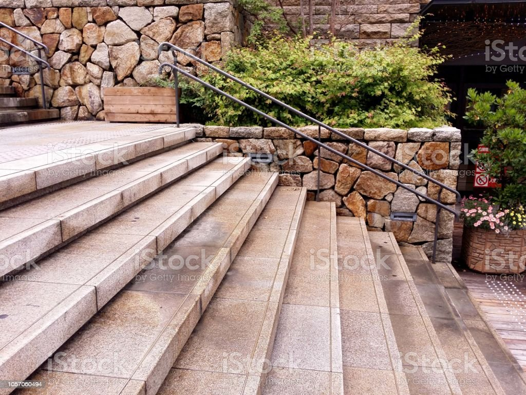 石の階段 ストックフォト