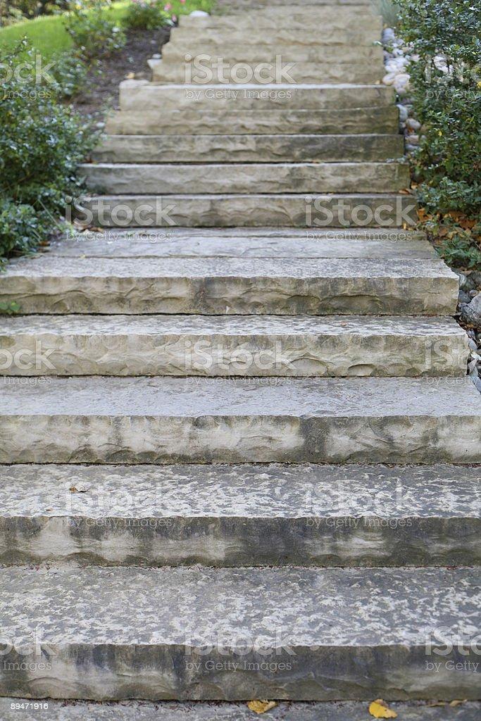 Escaleras de piedra foto de stock libre de derechos