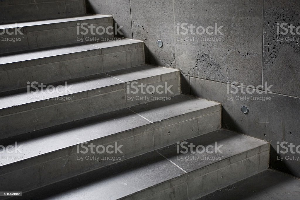 Stone stairs royalty-free stock photo