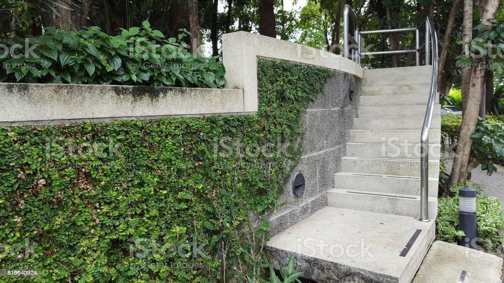 Photo libre de droit de Escalier En Pierre Pour Jardin ...