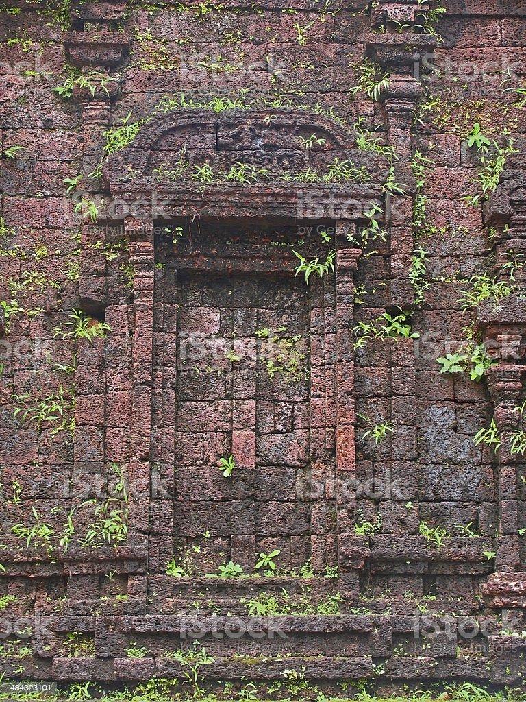 Krishna, Stone Structure Rajarajeswara temple built in hard laterite,...