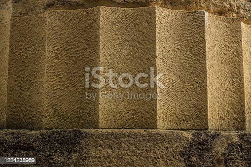 istock stone texture antique column ancient Greece architecture soft focus wallpaper background pattern 1224238989