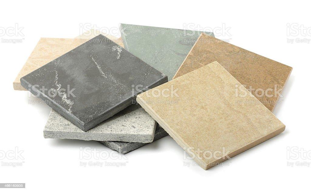 Stone tiles stock photo