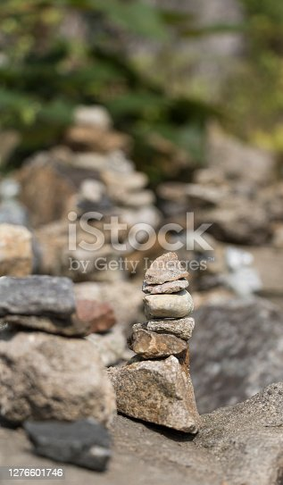 istock Stone tower is a wish 1276601746