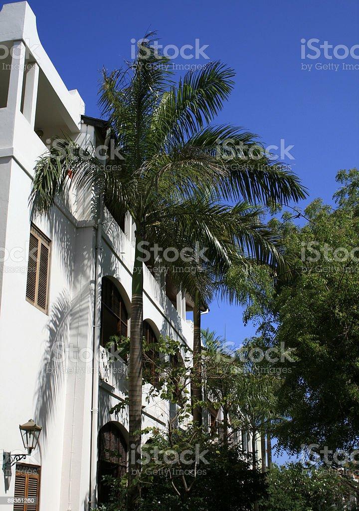 Stone ciudad de zanzíbar foto de stock libre de derechos