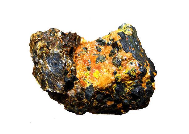 Stone uranium. stock photo