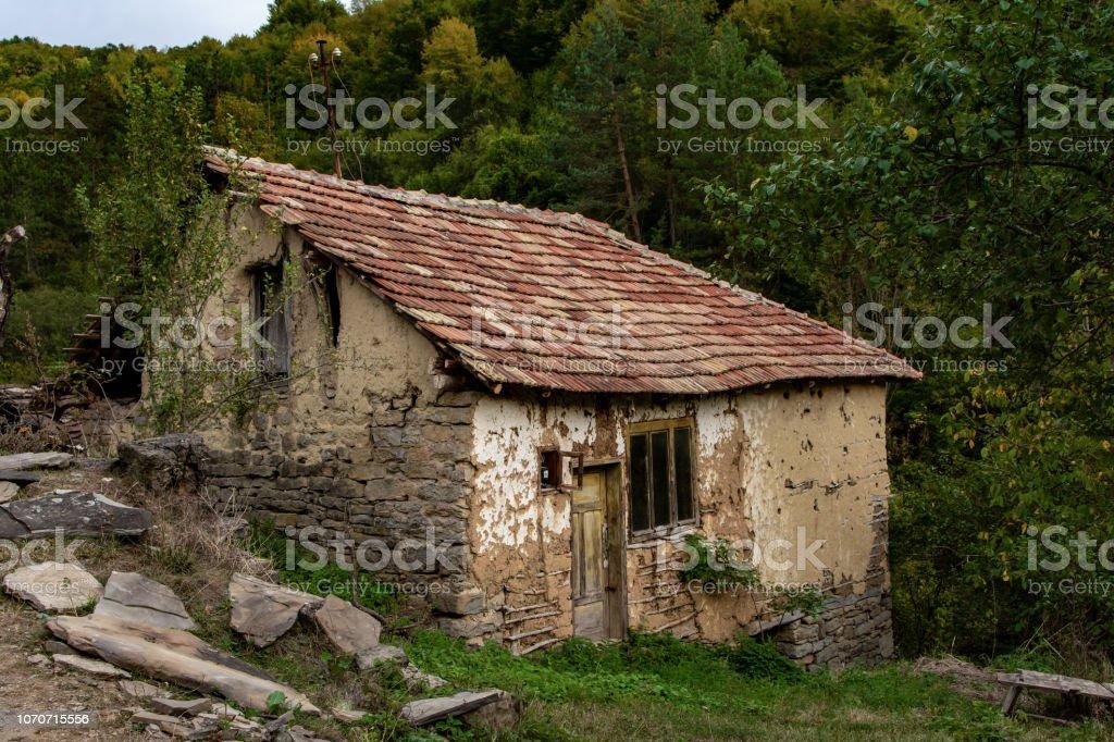 Aldea De Piedra Gostusa Montaña Stara Planina En Serbia Con
