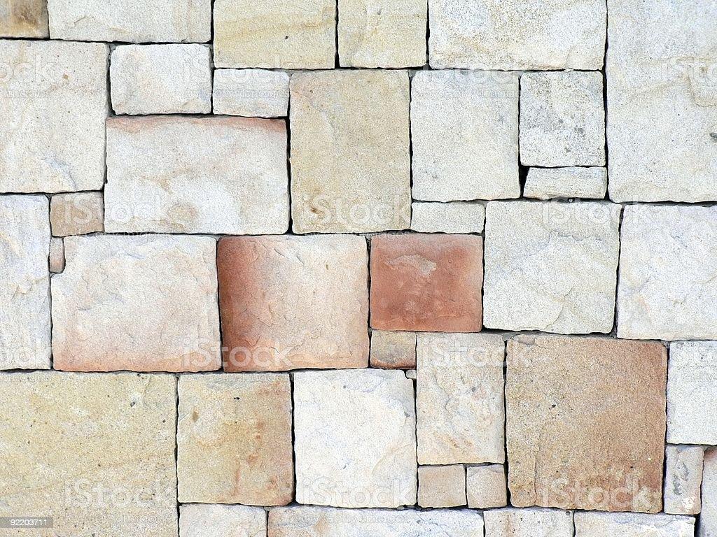 Stone Wall 01 stock photo