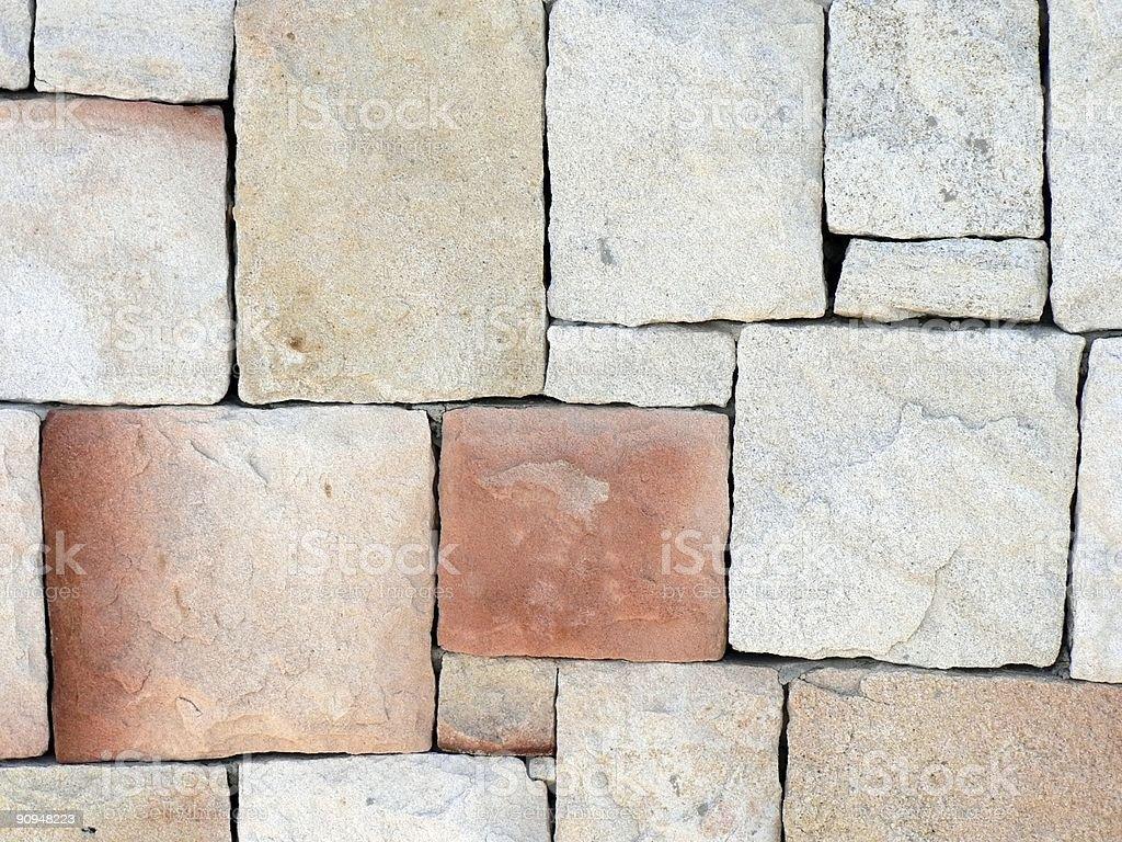 Stone Wall 02 stock photo