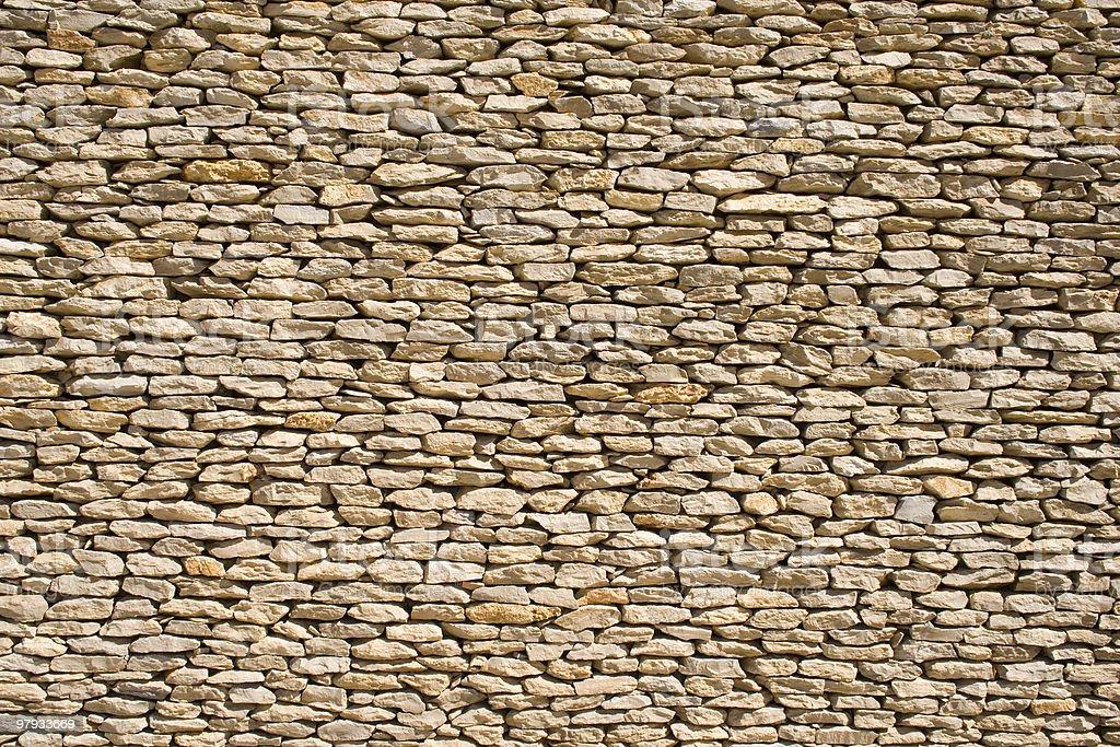 Stone wall 1 royalty-free stock photo
