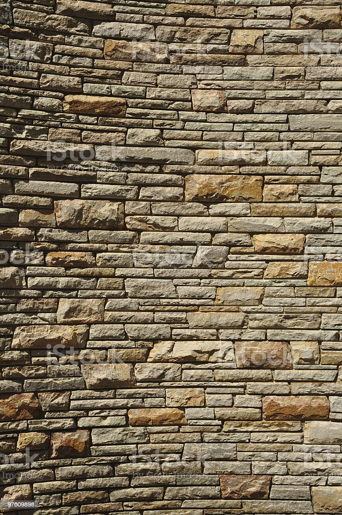 Stone Wall Backdrop royalty-free stock photo
