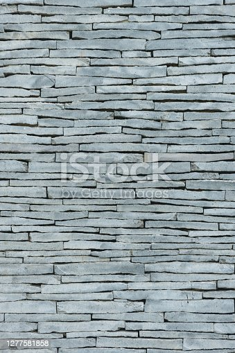 Stone wall background, full frame