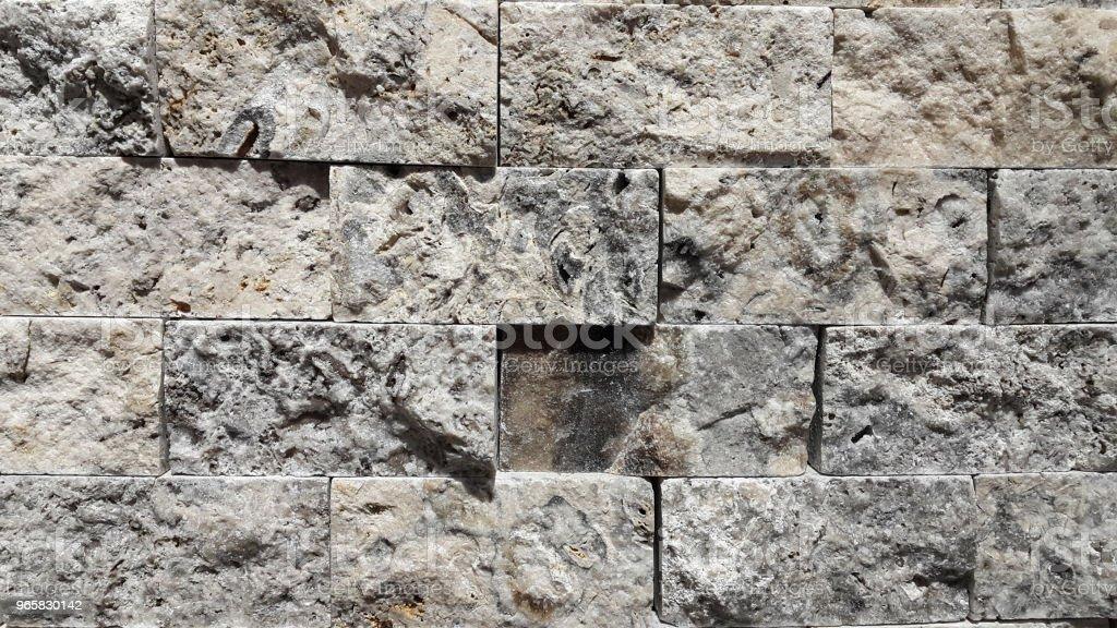 Stenen muur achtergrond - Royalty-free Abstract Stockfoto