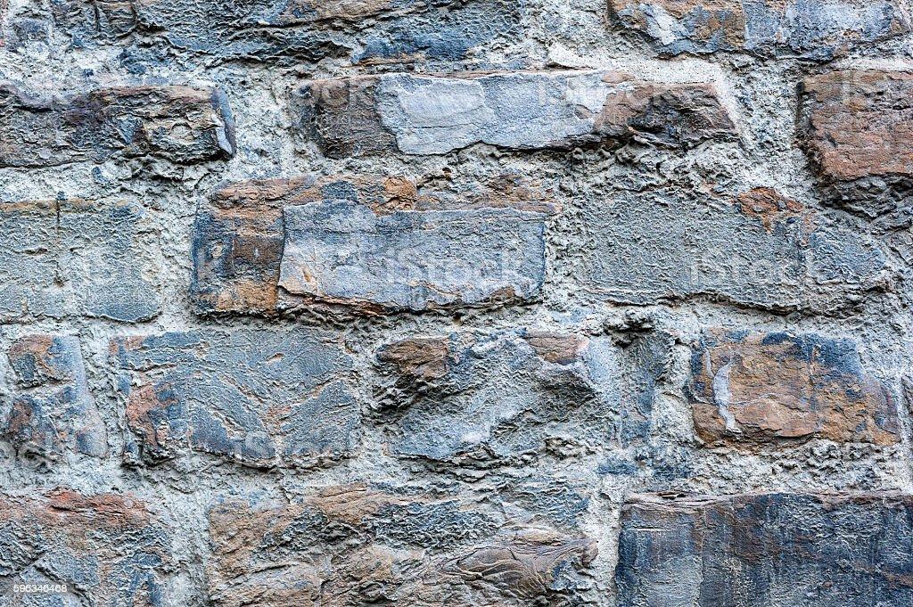 Stone wall brickwork texture royalty-free stock photo