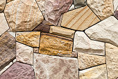 stone wall built by craftsman