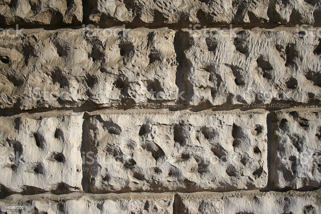 stone wall detail royalty-free stock photo