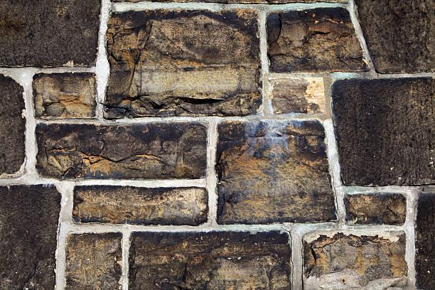 Stone Wall detail stock photo