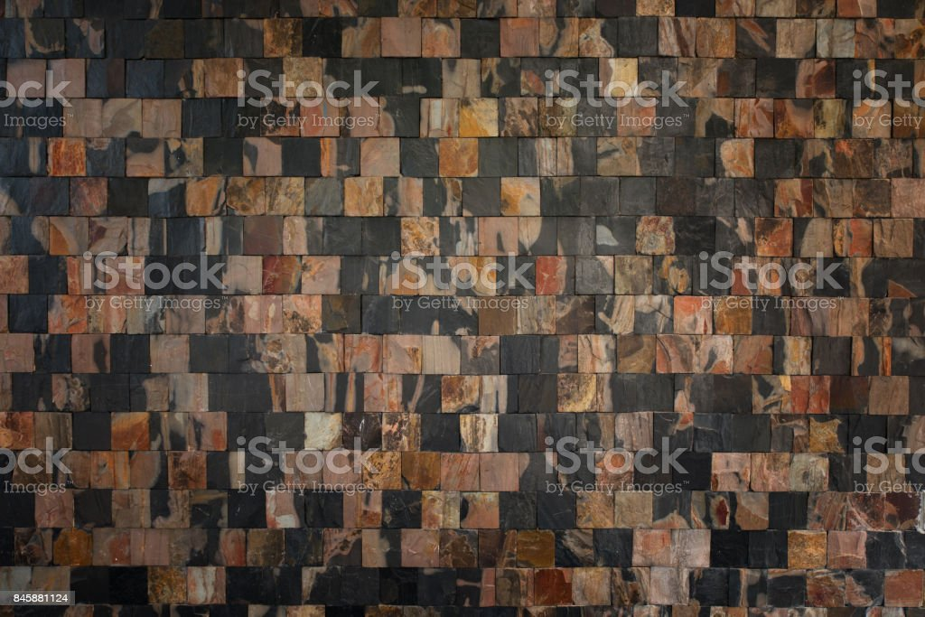 Stone wall for background and texture, Abstract puzzle stone wall backgrund and texture Fragment of stone wall for background and texture stock photo