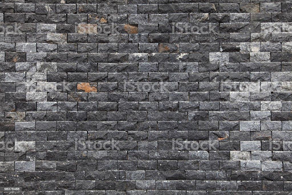 Muro di pietra di sfondo foto stock royalty-free