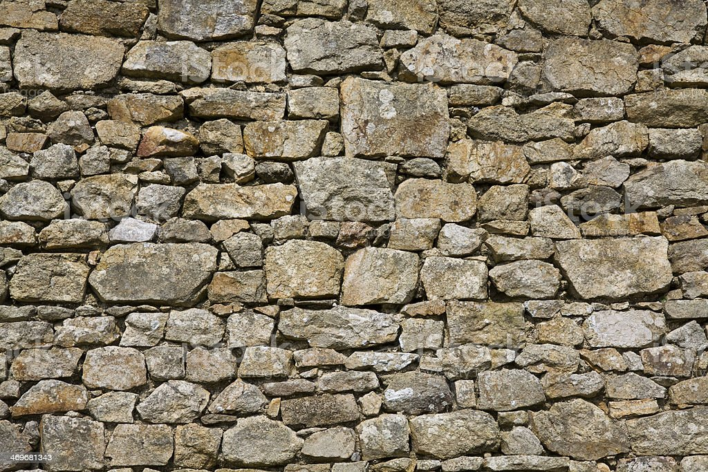 Stone wall, for texture stock photo