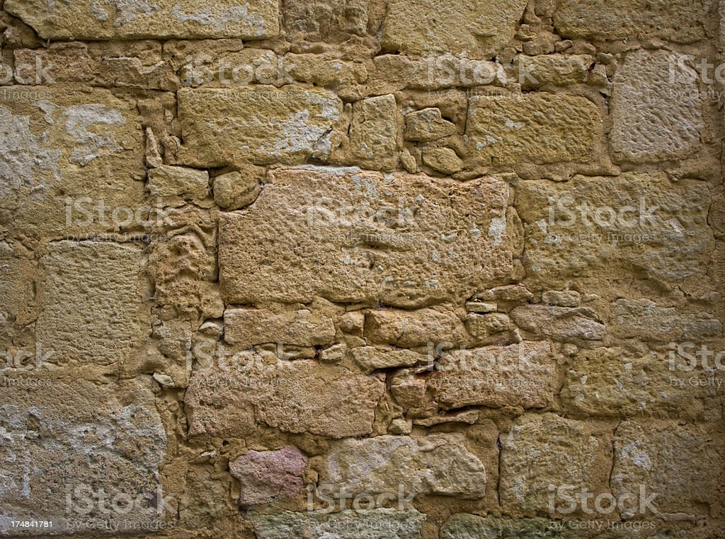 Stone wall, France royalty-free stock photo
