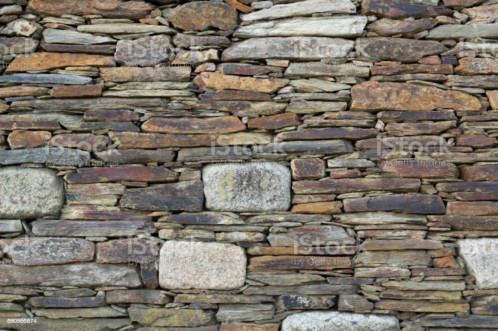 Stone wall pattern royalty-free stock photo