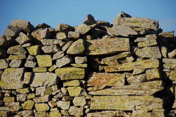 Muro de piedra - foto de stock