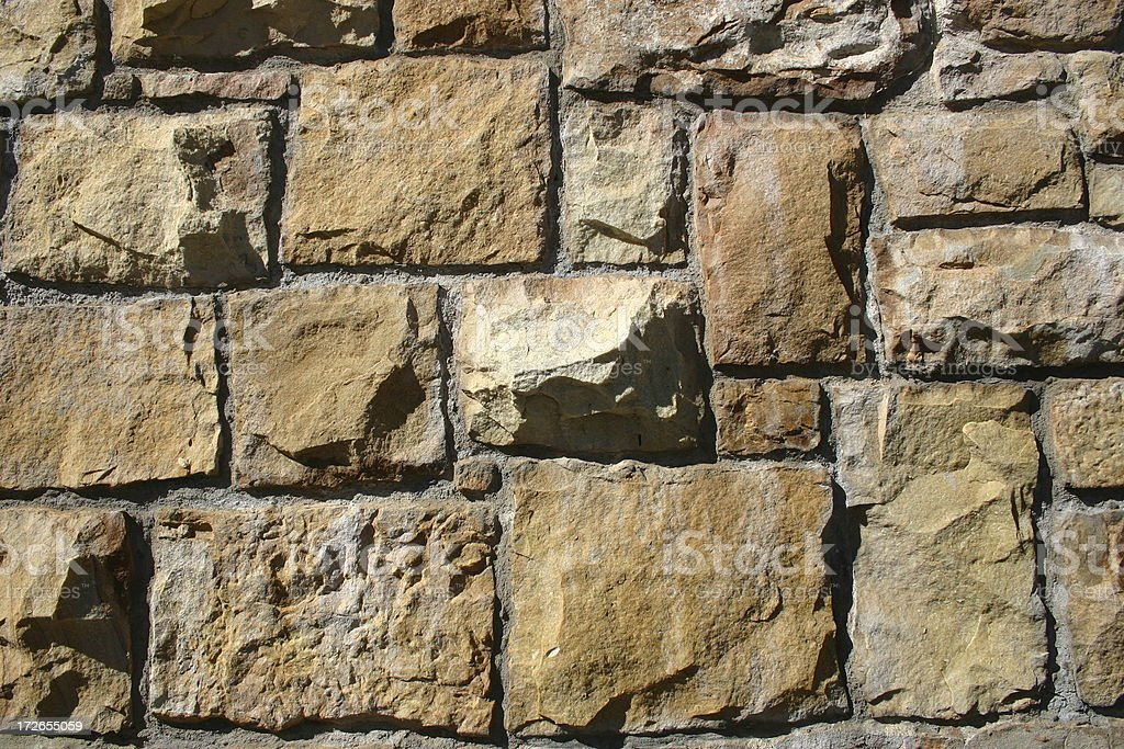 Stone wall royalty-free stock photo