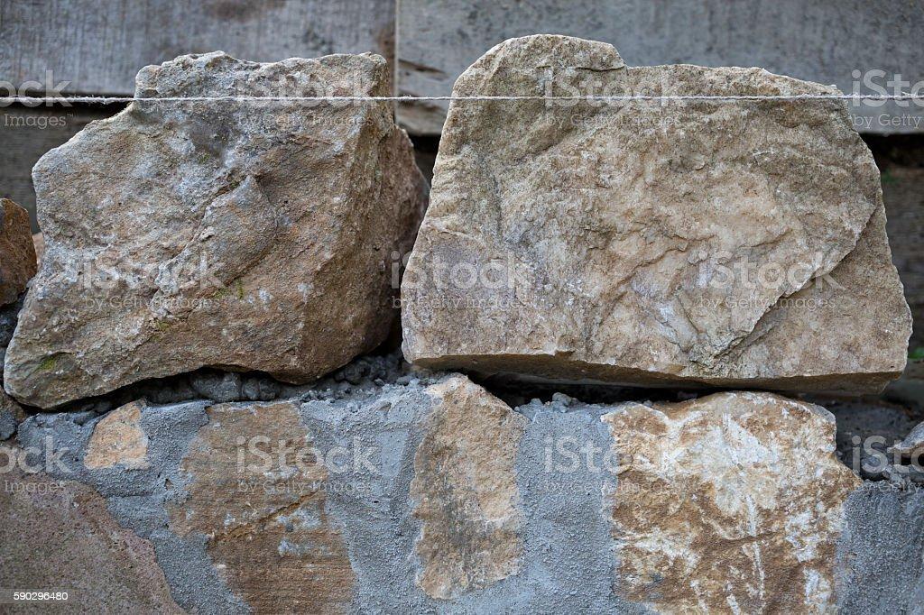 Каменная стена  Стоковые фото Стоковая фотография